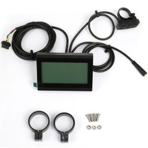 large screen multi function LCD display for electric bike 24V 36V 48V (LCD3)