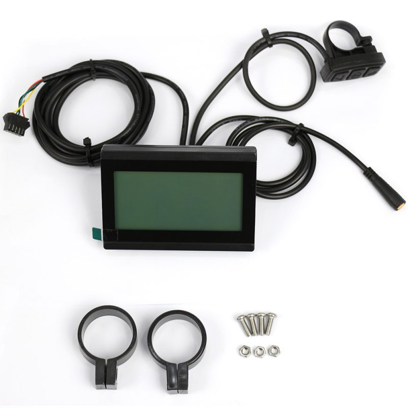 large screen multi function LCD display for electric bike