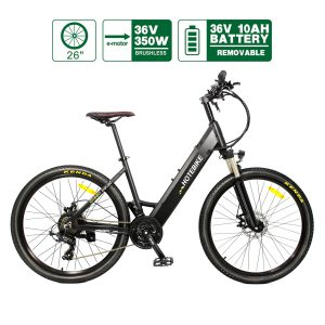 Canada 26 inch electric bikes city bikes mountain bike for men women adults (A5AH26-36V350W)