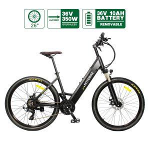 [Livrare rapidă] SUA 26 inch biciclete electrice biciclete urbane biciclete de munte pentru bărbați femei adulți 36V350W A5AH26
