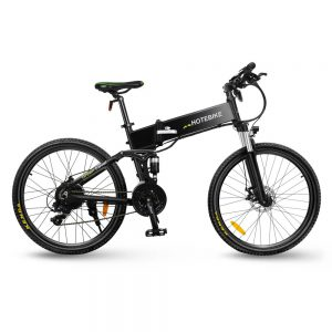 China 26″ 350W Folding Electric Mountain Bikes for adults