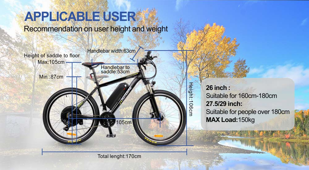 2018 China best E Bike 48v 500w E-Mountain Bikes USA for sale