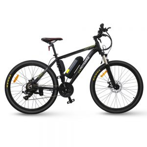 26 inch electric powered mountain bike for adults 36v lithium battery