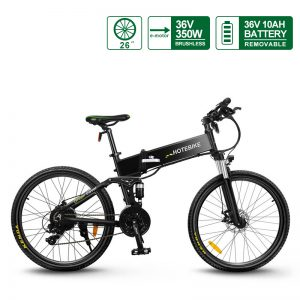 China 26″ 350W Folding Electric Mountain Bikes for adults (G4)