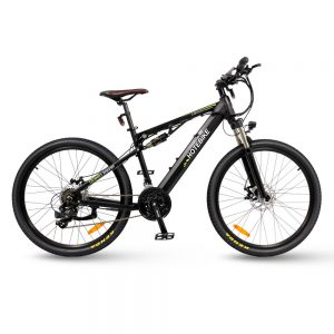 """26"""" best mens full suspension electric mountain bike with 350w motor"""