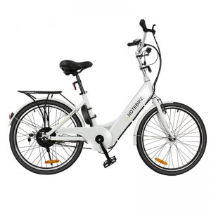 City electric bike 24 inch aluminum alloy frame for lady