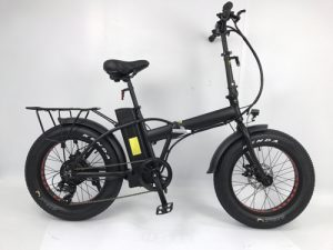 350W Electric Fat Tire Snow Bike Beach Bike A7AM20