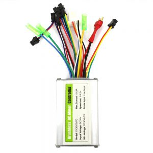HOTEBIKE Ebike Controller, 36V 350W Electric Bike Brushless Controller