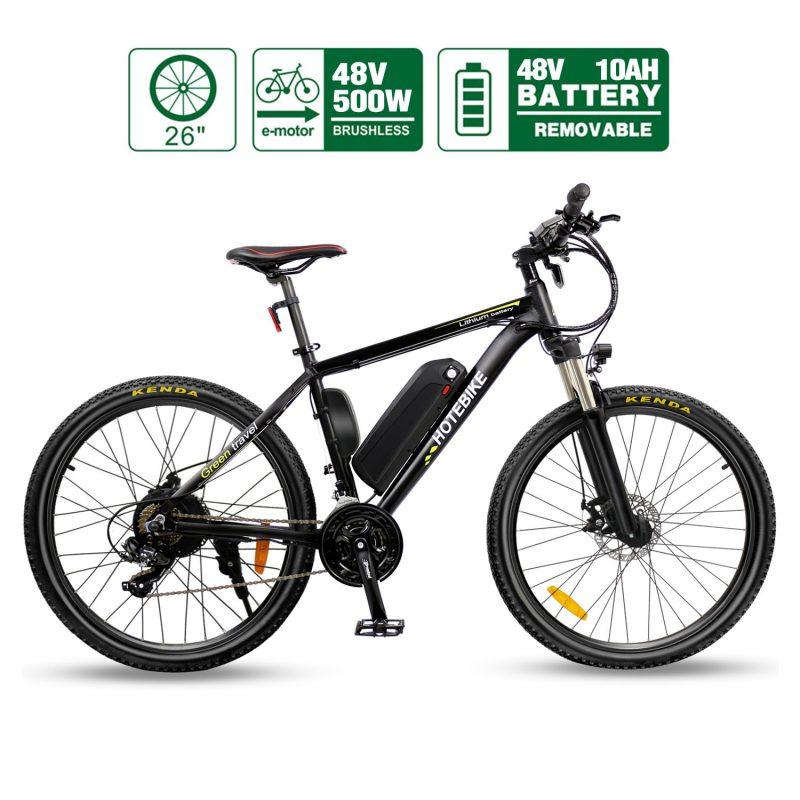48v 500w E-Mountain Bikes best E Bike A6AD26