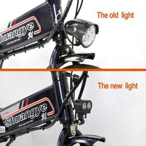 Upgrade Your Electric Bike Old Front Light to New Front Light