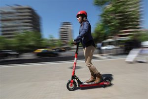 Electric scooters are taking over American