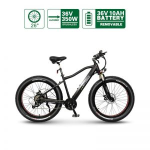 fat tire electric bike canada 26″ A6AH26F 36V350W