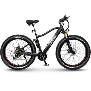 Mens fat tire electric mountain bike A6AH26F