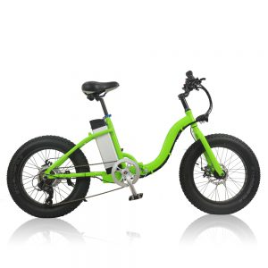 Folding fat tire electric bike  A7AW20