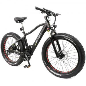 Do you know the difference between a fat tire on an electric bicycle and a normal tire