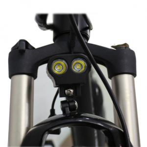 Suspension front fork for electric bike