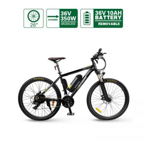 Canada The Best Hybrid Electric Mountain Bikes (A6AB26-36V350W)