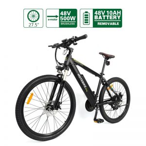 "48V 500W high-power 26"", 27.5"" or 29"" Electric Bicycles Hidden Battery (A6AH26)"