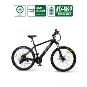 Canada 36V 350W 26 inch Assist Best Adult Electric Bicycles Hidden Battery (A6AH26-36V350W)