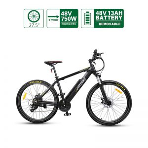 Available in the US 48V 750W high-power 27.5*1.95 inch Best Adult Electric Mountain Bikes (A6AH26-48V750W)