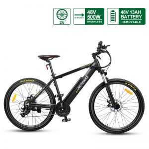 "48V 500W high-power 26"" Electric Bicycles Hidden Battery (A6AH26-48V500W)"