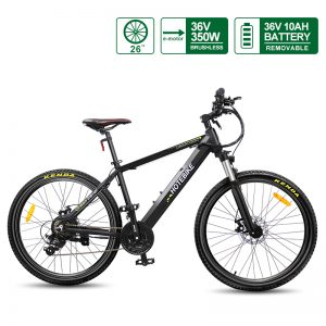 [Fast Delivery] Electric Mountain Bike 36V 350W 26 inch Electric Bicycle Hidden Battery A6AH26