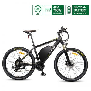 long range electric bike 48V20AH Hidden Battery A6AH26 48V750W