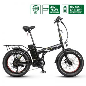 48V 750W folding electric fat bike A7AM20