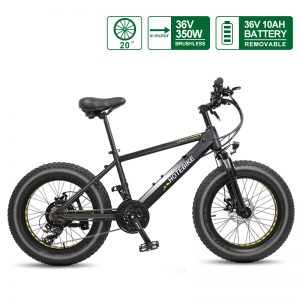 Electric Mini Bike Beach Fat Tire Electric Bike 20 inch (A6AH20F-36V350W) Available in US