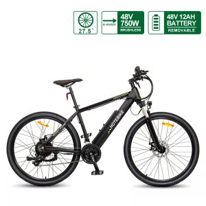 US 48V 750W Powerful Electric Bike 27.5 inch Electric Bicycles Adult Mountain Bike A6AH26