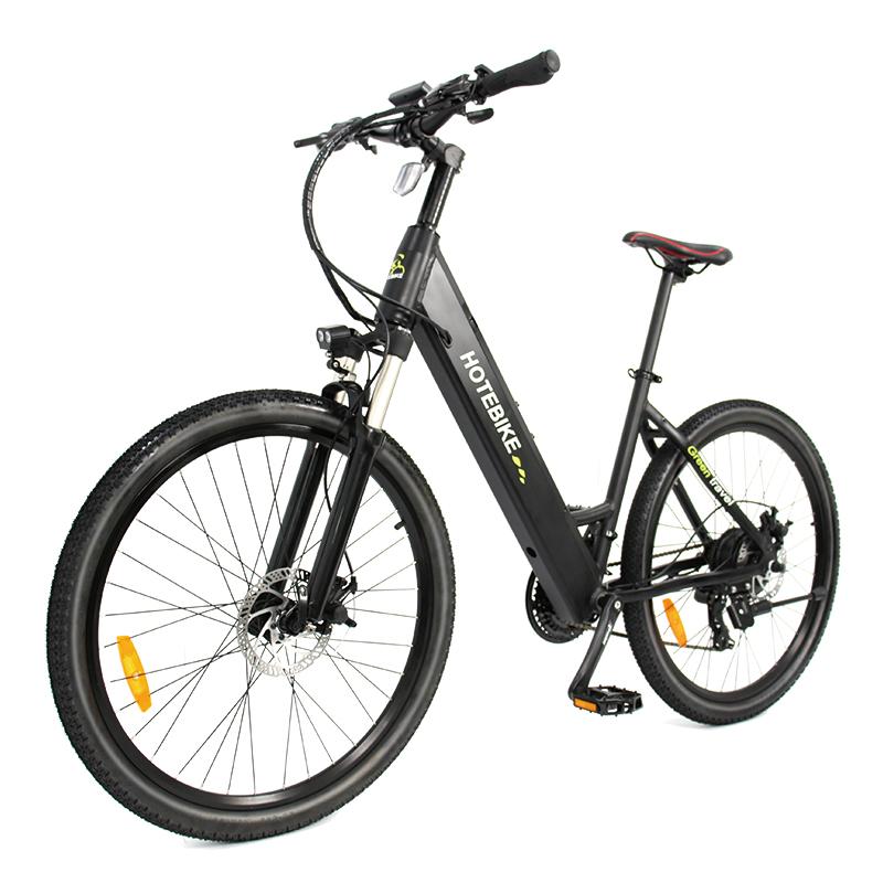 HOTEBIKE electric mountain bike installation video