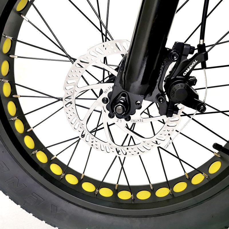 20 Inch Electric Fat Bike Fat Tire Electric Bike A6ah20f 48v500w Hotebike