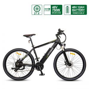 48V 750W Fast Electric Bike Adult Mountain Bikes A6AH26 27.5″ Canada