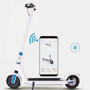 8.5 inch 36V 250W scooter app Iṣakoso folti ẹlẹsẹ kekere ina