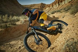 Is it easy to ride an electric mountain bike?
