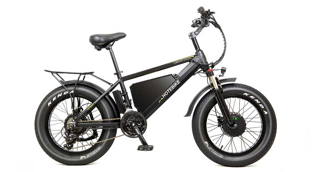 dual motor fat bike