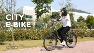 Hotebike A3AL24 Electric Bicycle Display Video