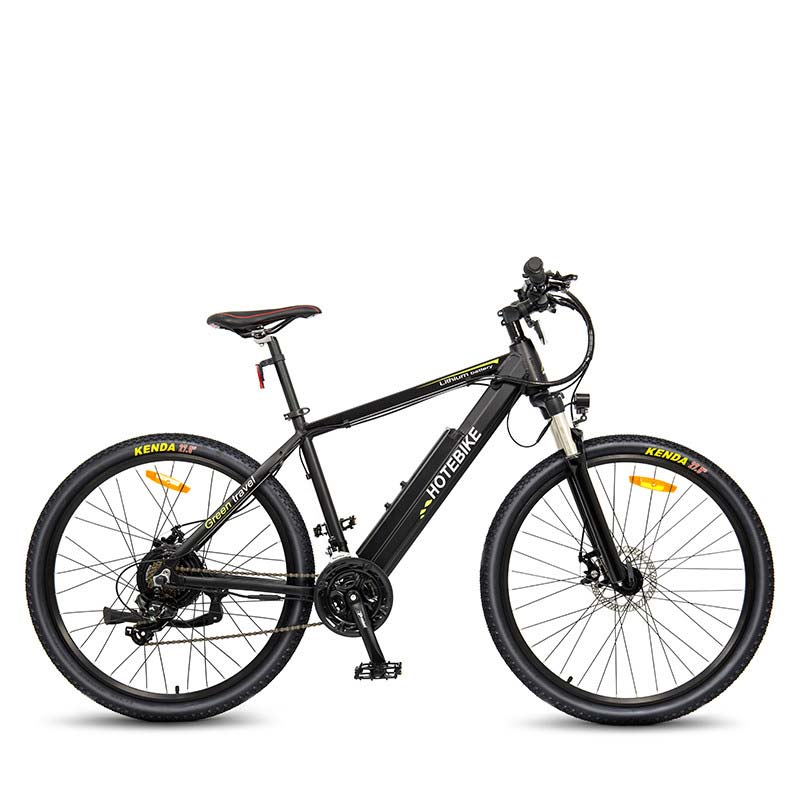 HOTEBIKE super cool 750W high power motor electric bicycle video