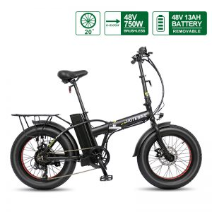 48V 750W folding electric bike fat tire bike electric mini bike A7AM20