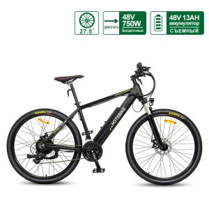 [Fast Delivery] 48V 750W Mountain Electric bike 27.5″ Electric Powered Bicycle with Hidden Battery A6AH26