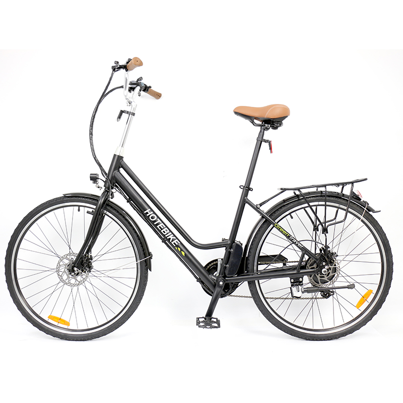 Hotebike A3AL24 electric bicycle display video