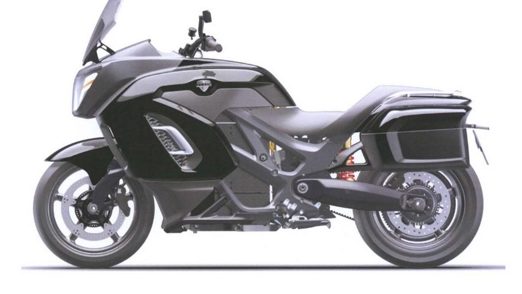 Aurus Escort Electric Motorcycle Side