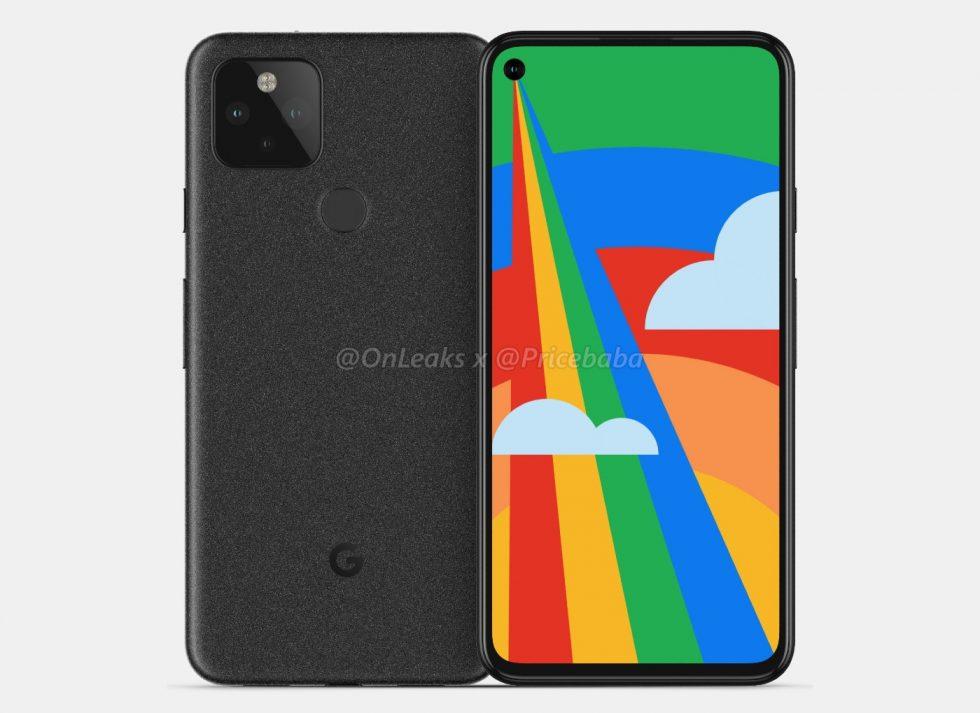 Google Pixel 5 CAD Render