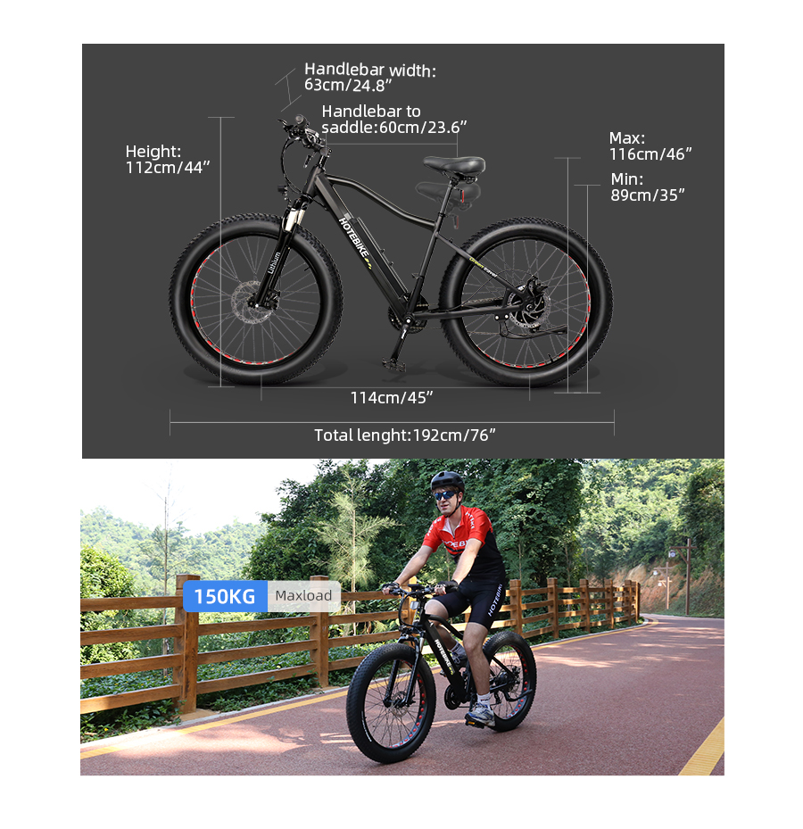 electric bike range