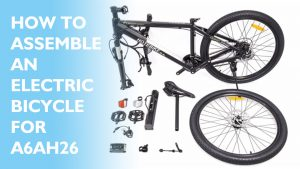 HOTEBIKE Electric Mountain Bike Installation Video