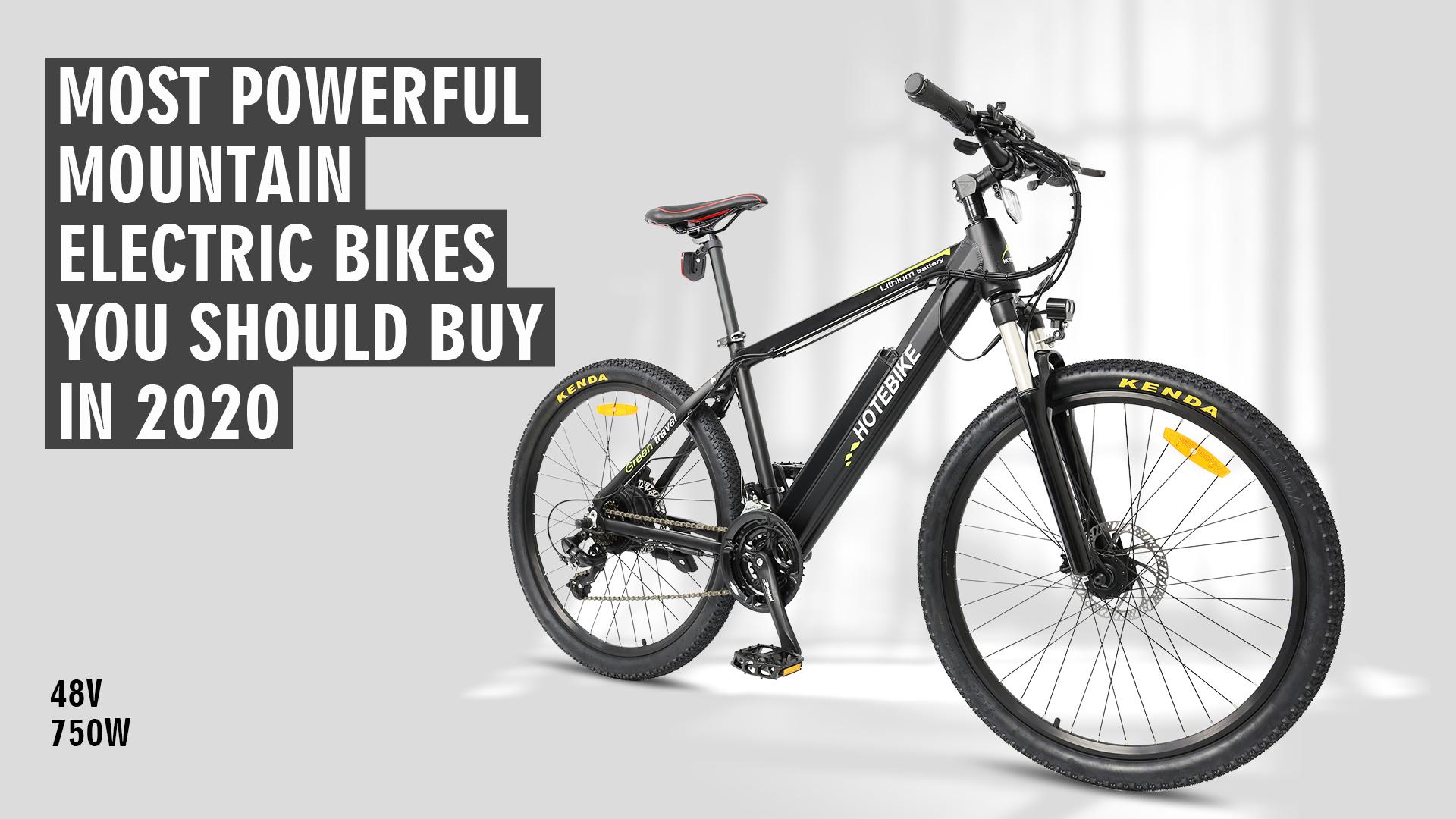 500W Mountain Bike with MTB Stem Adjustable Handlebar for 160cm to 188cm People