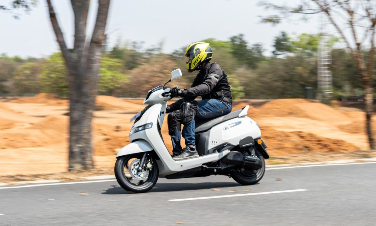 TVS iQube Electric Test Ride Review -23