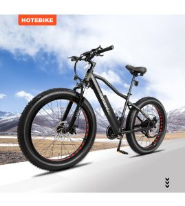 A6AD26 & A6AH26F, inspired' fast electric bike launched