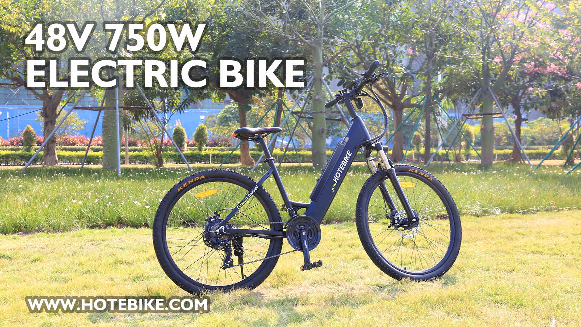 750W City Bike A5AH26 Introduction Electric Bicycle