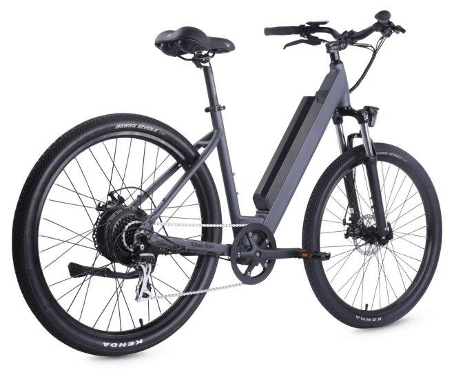 500-Series-Electric-Bike-Step-Thru-Frame-Black-back-view